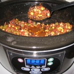 Easy Crockpot Vegetarian Chili