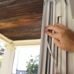 Installing V-Channel Weatherstripping on Drafty Windows