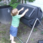 A Spinning Composter