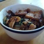 Stir-Fried Bok Choy and Radish with Tofu